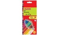 Creioane color triunghi Herlitz