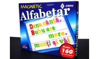 Alfabetar magnetic litere